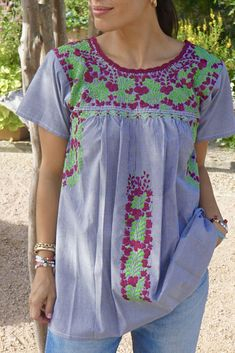 Hand made Mexican top