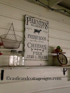 farmhouse kitchen!