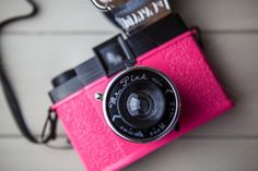 Pink #retro #camera by Tom Eversley on Creative Market