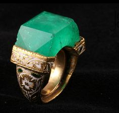 """Rachou 83 Jade Jagger Ring. """" I've always loved Jade. Grace and I saw a piece of jade in a Fairbanks, Alaska museum the size of a kitchen table. I remember wanting to """"hug"""" it and not let go!."""" Dr. Tim"""