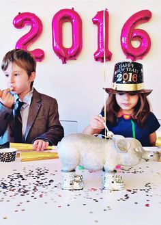 Spending New Years Eve with kids and need some NYE party ideas? Click through for everything from decor ideas to crafts to get your new year started off on the right (and fun!) foot.