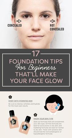 17 Foundation Tips For Beginners That�ll Make Your Face Glow