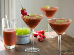 Make this cocktail from scratch by blending fresh tomatoes instead of using canned tomato juice.
