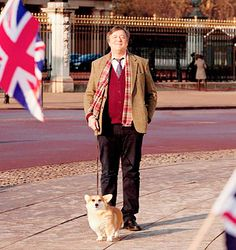 I got As British as Stephen Fry walking a corgi outside Buckingham Palace! How British Are You?