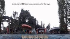 "How to convert of ""Multi-plane 360-degree perspective for fisheye""."