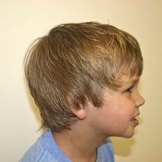 Shaggy layered hair- if I have a son, I hope to god that he has hair like this.