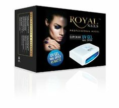Royal Nails Professional Uv Light Gel and Acrilic Nail Dryer & Curing Rn541 by Royal Nails. $180.00. 5 setting Timer: 90sec, 120sec, 180sec, 240sec, 300sec. Works with all uv gel products.. 45 watt 5 x 9watt Uv Bulbs for even nail curing distribution.. Double fan for faster drying. Double size for simultaneous two hand use/ Suitable for hands and feet. Product Features 45 watt 5 x 9watt Uv Bulbs for even nail curing distribution. Works with all uv gel produc...