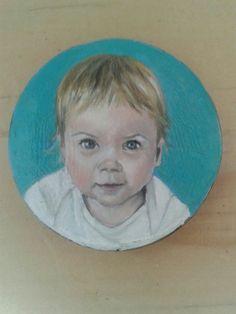 Portret op kraal