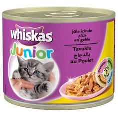 WHİSKAS JUNİOR TAVUKLU YAVRU KEDİ KONSERVESİ 200 GR #kedi #kedimaması Dog Bowls, Dog Food Recipes, Pets, Animals And Pets, Dog Recipes