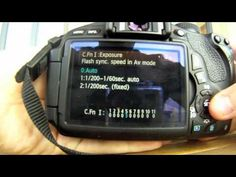 How to use the Canon t3i Rebel (600d)