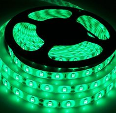 Green Led Light Strips Hitlights Weatherproof Led Light Strip  Cool White 5000K Smd 5050