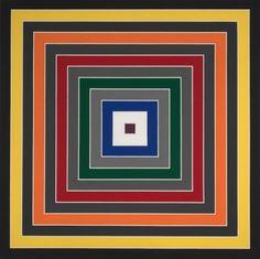 Frank Stella, esta é para eu sempre me lembra desse artista contemporâneo, da Arte Minimalista e do Construtivismo, que influenciou alguns dos meus estudos de arte.