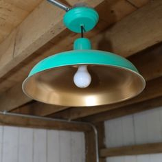 An easy update gives a basic light fixture a high end look.