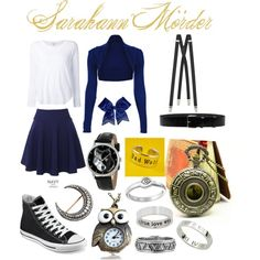 Sarahann Mörder-The Daughters of the Note by zeldaeeveefan on Polyvore