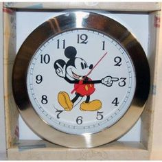 Disney Fairies Tinkerbell Plastic Wall Clock By Disney