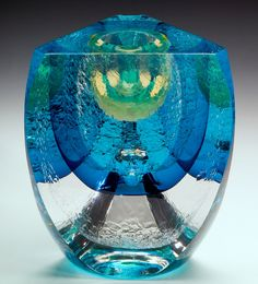 jon goldberg art | Two different formulas of glass are used in this series. Both are ...