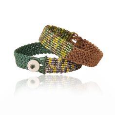 Bracelets – Boho Chic Macrame bracelet – a unique product by MiladyAccessories on DaWanda