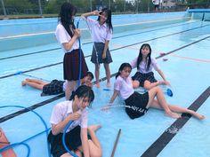 Tween Fashion, Fashion Outfits, Cute Young Girl, School Sports, Asian Girl, Swimsuits, Teen, Japan, Water
