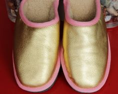 Athena line brand new women slippers with by PrimeStarFurs on Etsy
