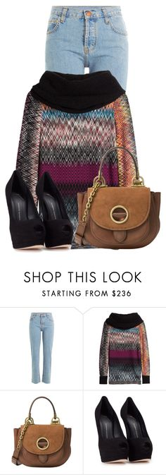"""""""Untitled #19694"""" by nanette-253 ❤ liked on Polyvore featuring Current/Elliott, Missoni, MICHAEL Michael Kors and Giuseppe Zanotti"""