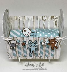 Moon Baby - Stampin' Up! - Created by Sandy Mott for the Creative Circle Design Team, May Blog Hop