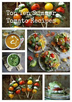 10 summer tomato recipes