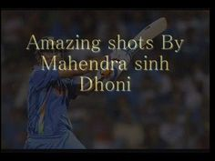One of Best Amazing Shots By Mahendra Sinh Dhoni