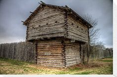 Ft. Parker Stockade and Guard Tower by Terence Russell Crawford County, Old Fort, Texas History, Antique Bottles, Country Living, Tower, Rv Tips, America, Canvas Prints