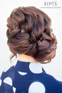 French Side Braid Updo: Chic Everyday Hairstyles