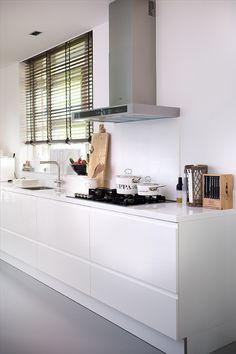Witte keuken van Riviera Maison