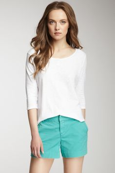 Calvin Klein Jeans Suri Slub Knit Henley