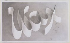 Edward Ruscha. Wax. 1967 Gunpowder & pencil on paper (roo SHAY) American b 1937