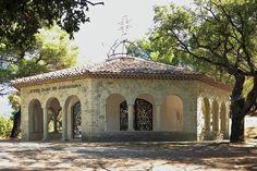 Chapelle Notre Dame de Jérusalem dite la chapelle Cocteau. Fréjus. Provence-Alpes-Côte d'Azur