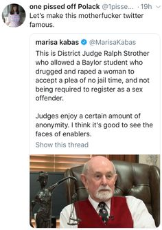 District judge Ralph Strother Patriarchy, Intersectional Feminism, Equal Rights, Faith In Humanity, Social Issues, Social Justice, Equality, Lgbt, Human Rights