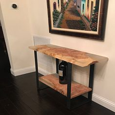 Resin dining table with matching bench Beautiful Table, Home Furniture, Dining Table, Table, Small Dining Table, Home Decor, Walnut Dining Table, Resin Furniture, Coffee Table
