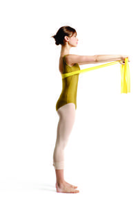 Total Body Tune-Up Thera-Band exercises that go beyond your toes Pointe magazine – Ballet at its Best. Pilates, Dance Articles, Dancer Stretches, All Body Workout, Resistance Band Exercises, Body Exercises, Dance Technique, Bikini Workout, Bikini Fitness