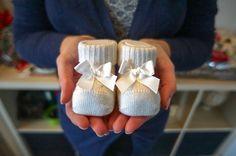 dolce attesa scarpine neonato annuncio gravidanza