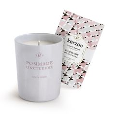 """Kerzon fragranced candle """"POMMADE ONCTUEUSE"""""""