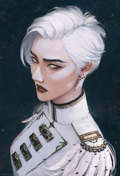 Sci-fi Female Officer