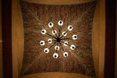 Brick ceiling!