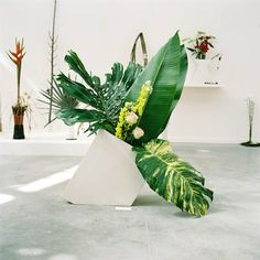 Ikebana installation by Camille Henrot