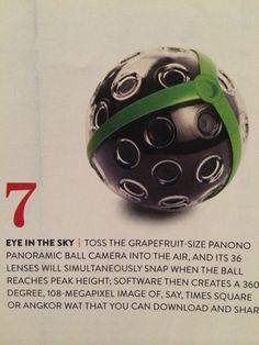 Eye in the sky camera ball