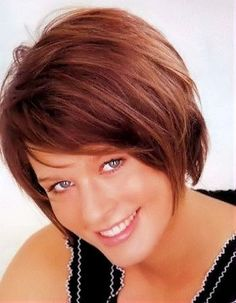 nice Idée coupe courte : Lightly layered short hair cut.