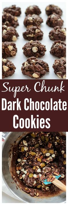 Super Chunk Dark Chocolate Cookies