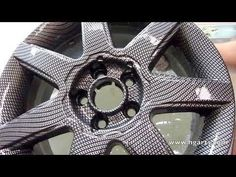 Water Transfer Printing - Hydrographics - Wassertransferdruck Process | ...  This is so cool. Diane :)