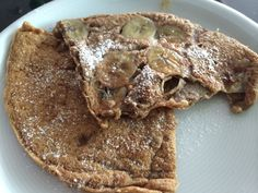 vegane Buchweizen-Bananen-Pancakes  mehr auf: http://cupcake-cult.ch/?p=3444