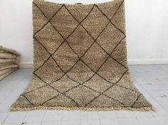Your place to buy and sell all things handmade Berber Rug, Cool Rugs, Sheep Wool, Beautiful Words, Moroccan, Hand Weaving, Area Rugs, Carpet, Pure Products