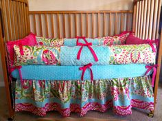 Reserved for KelynBedding Set minus Sheet by WildflowerQuilting, $269.00