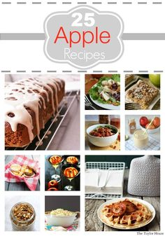 Delicious Apple Recipes for Fall - The Taylor House