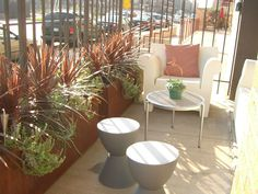 One More View of the Ore Containers on our Downtown Minneapolis Patio